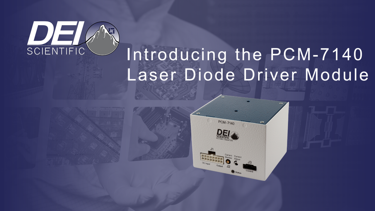 Pcm 7140 1a Oem Laser Diode Driver Module Directed Energy Circuit Click Below To Play The Video